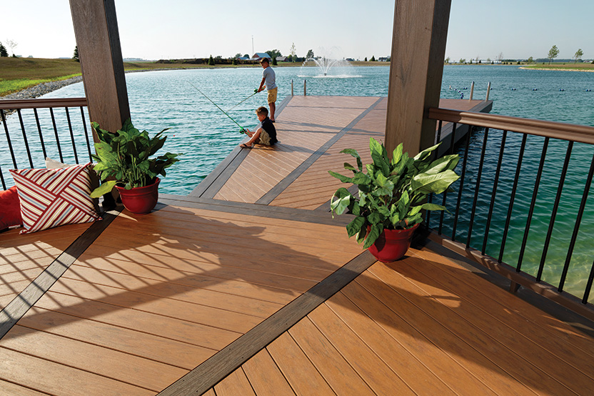 Cyr lumber and home center home for Evergrain decking vs trex